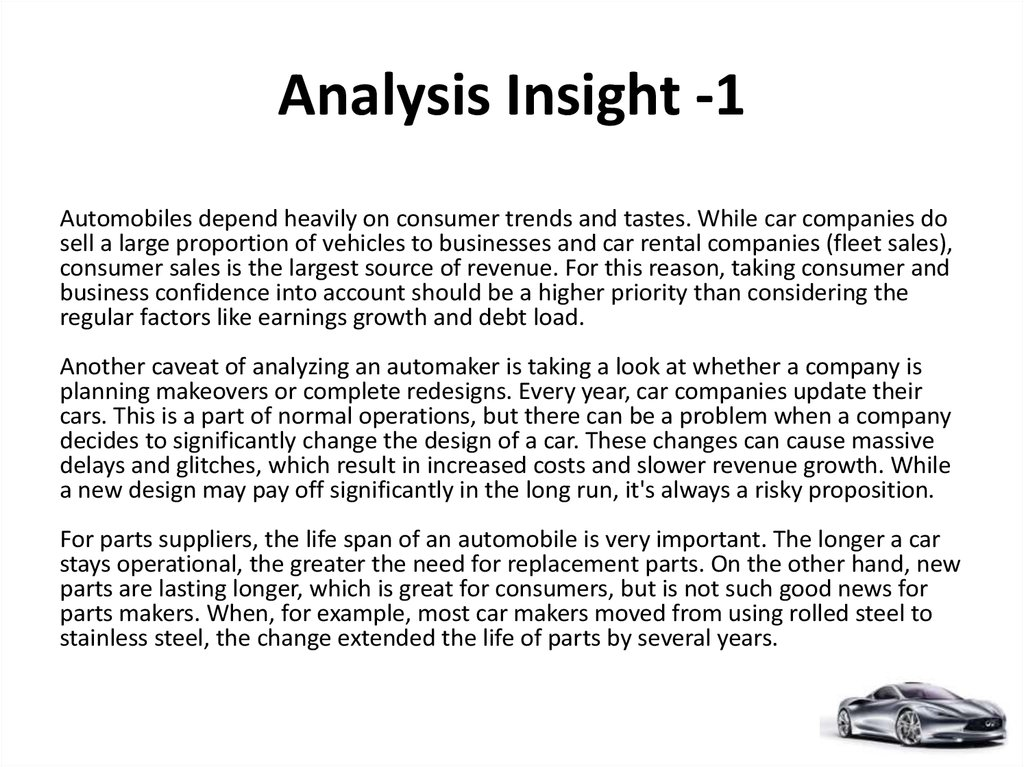 Analysis Insight -1