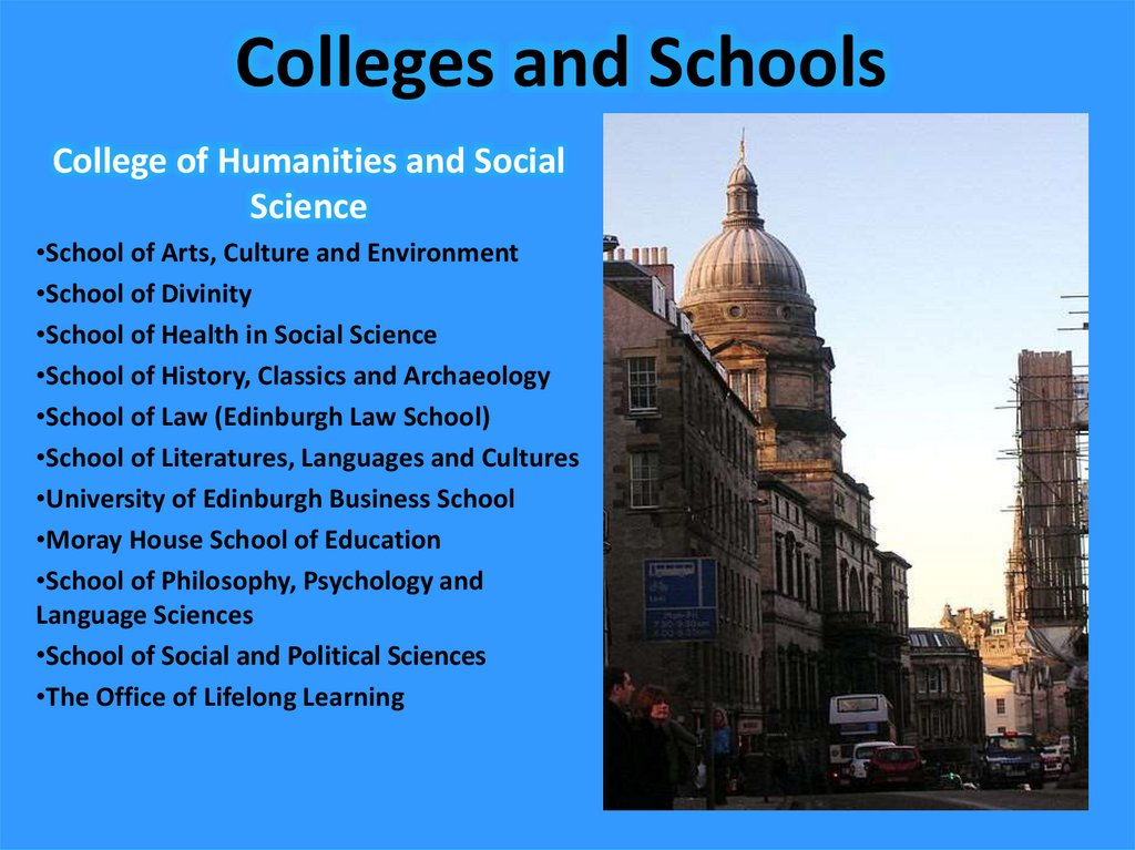 Colleges and Schools
