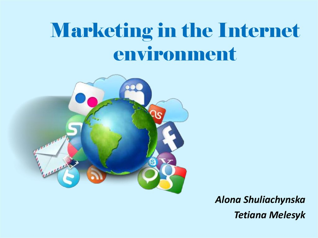 Marketing in the Internet environment