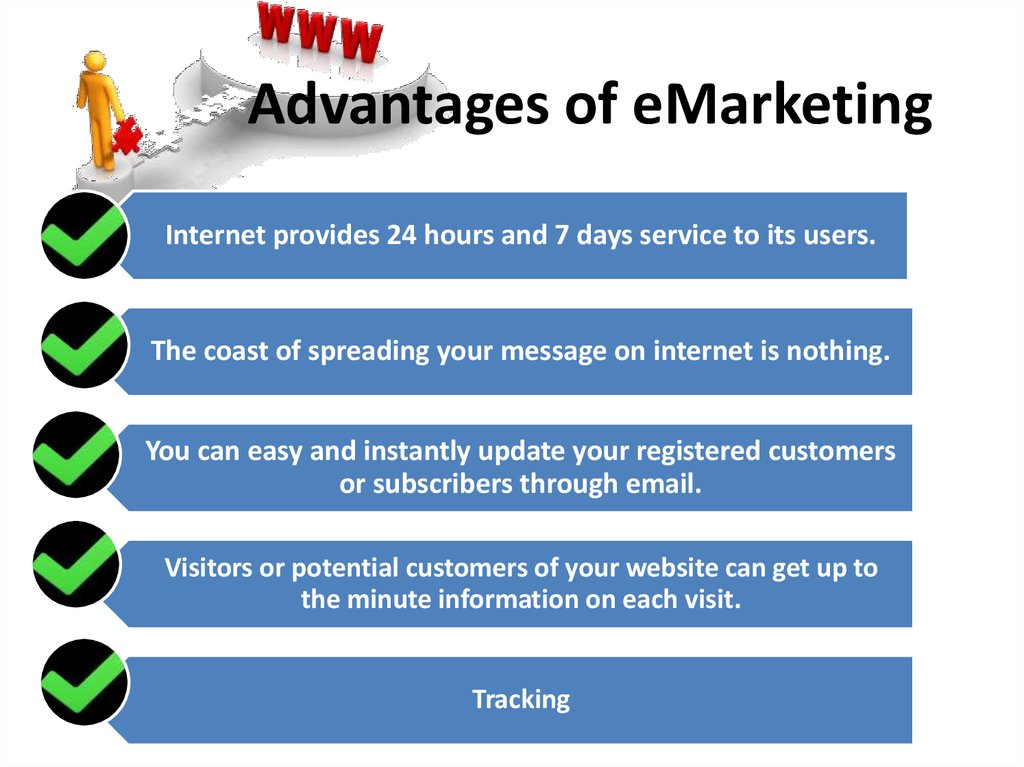 Advantages of eMarketing