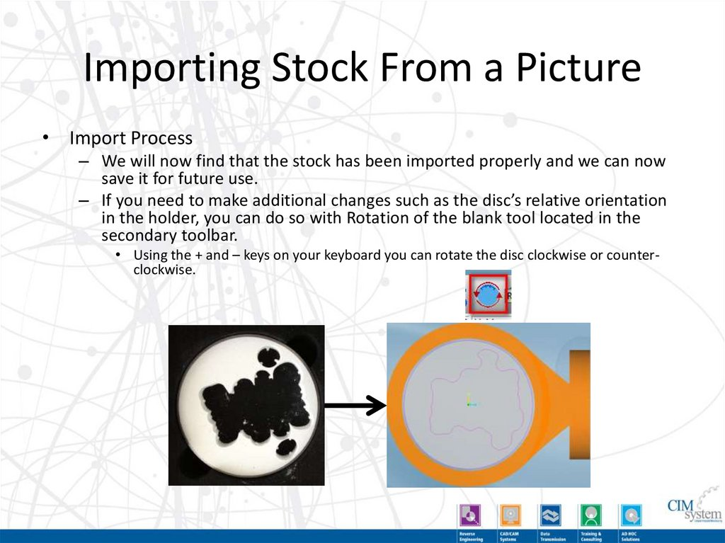 Importing Stock from a Picture