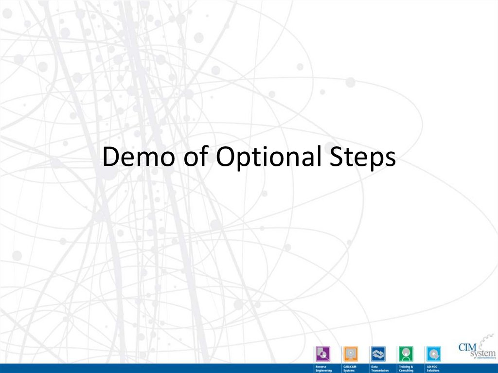 Optional Steps - Move / Rotate Parts