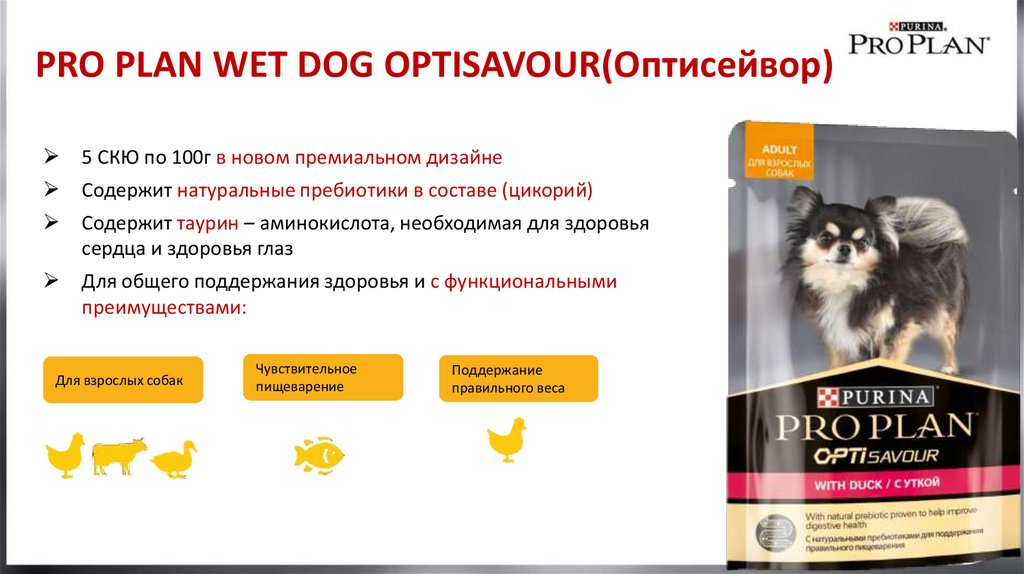 PRO PLAN WET DOG OPTISAVOUR(Оптисейвор)