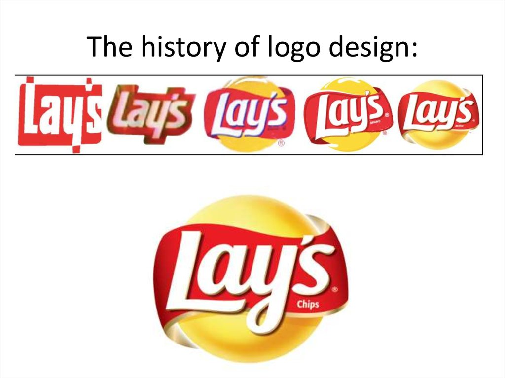 The history of logo design: