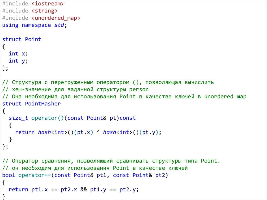 Классы std::unordered_map и std::unordered_multimap
