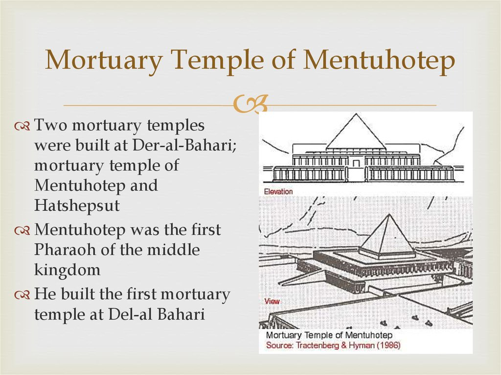 Mortuary Temple of Mentuhotep