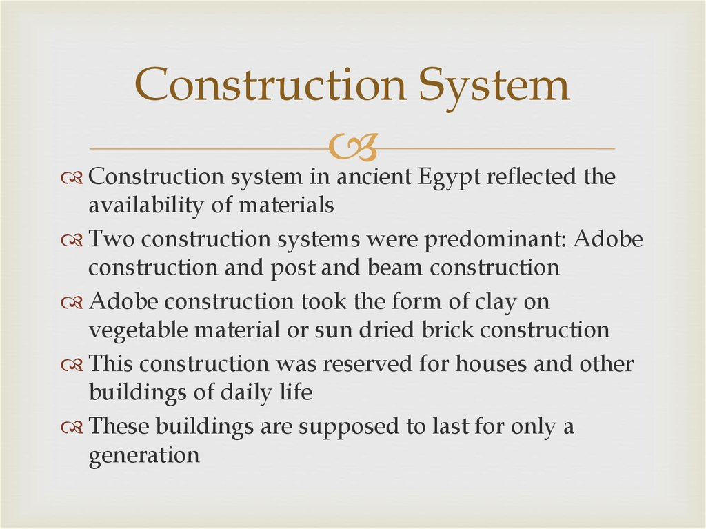 Construction System