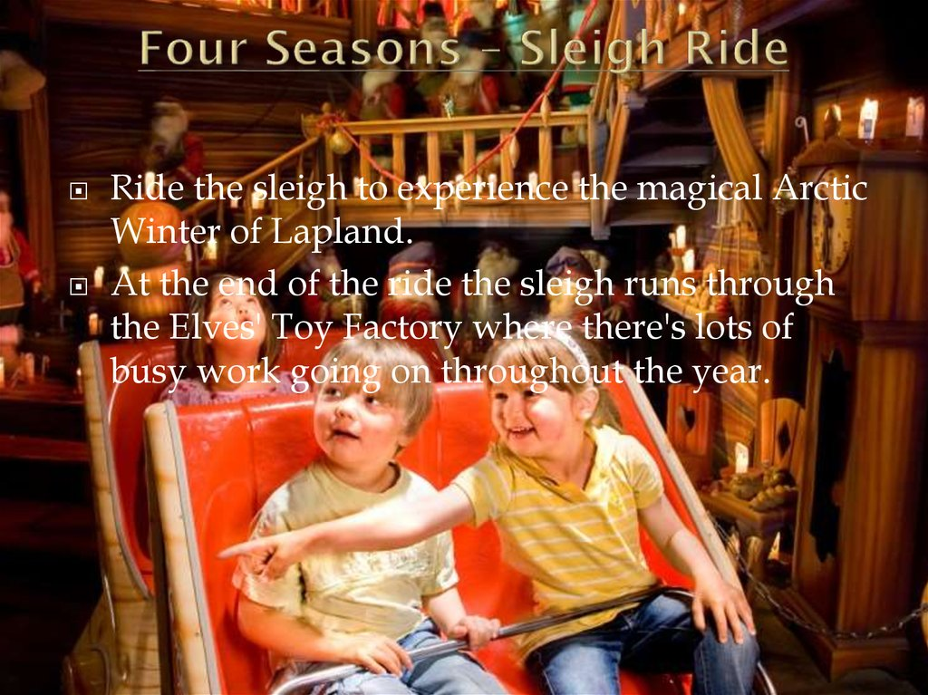 Four Seasons – Sleigh Ride