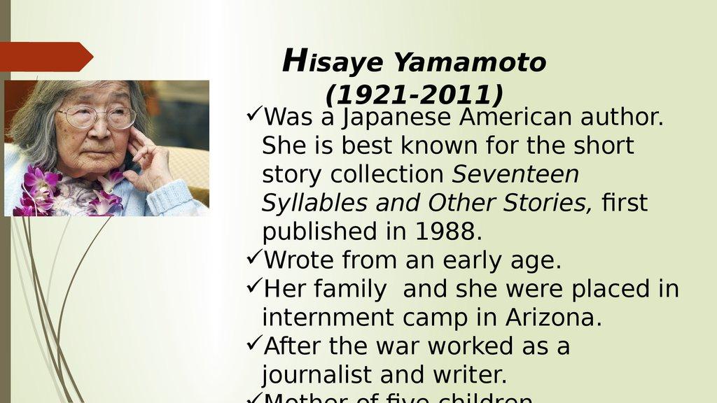 American Japanese Literature Online Presentation