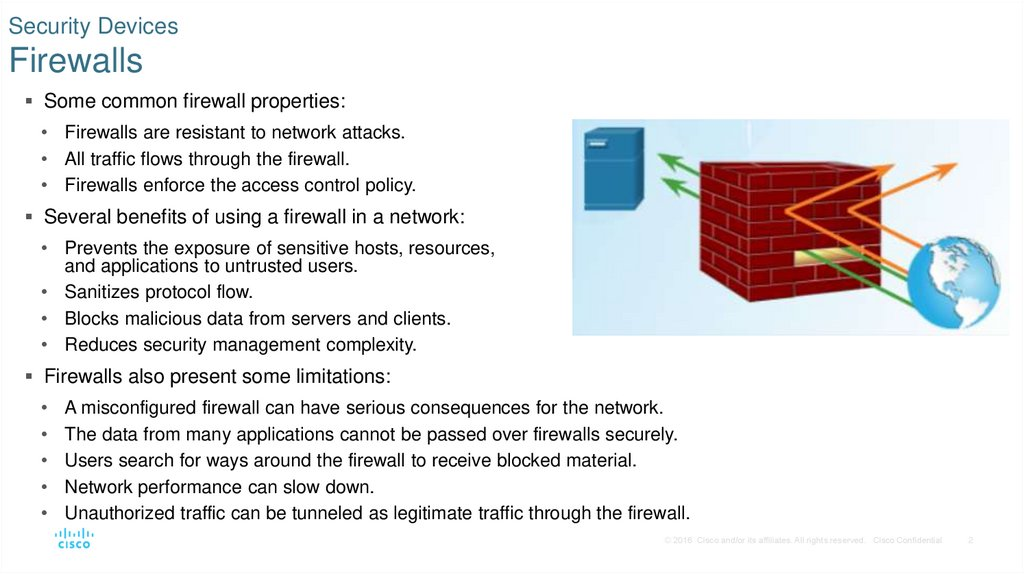 Security Devices Firewalls