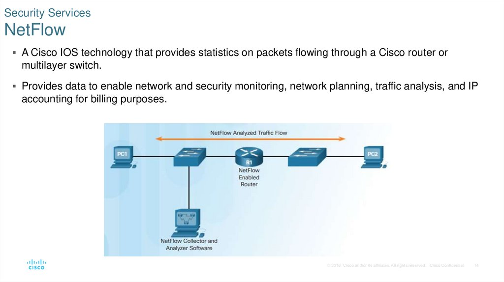 Security Services NetFlow