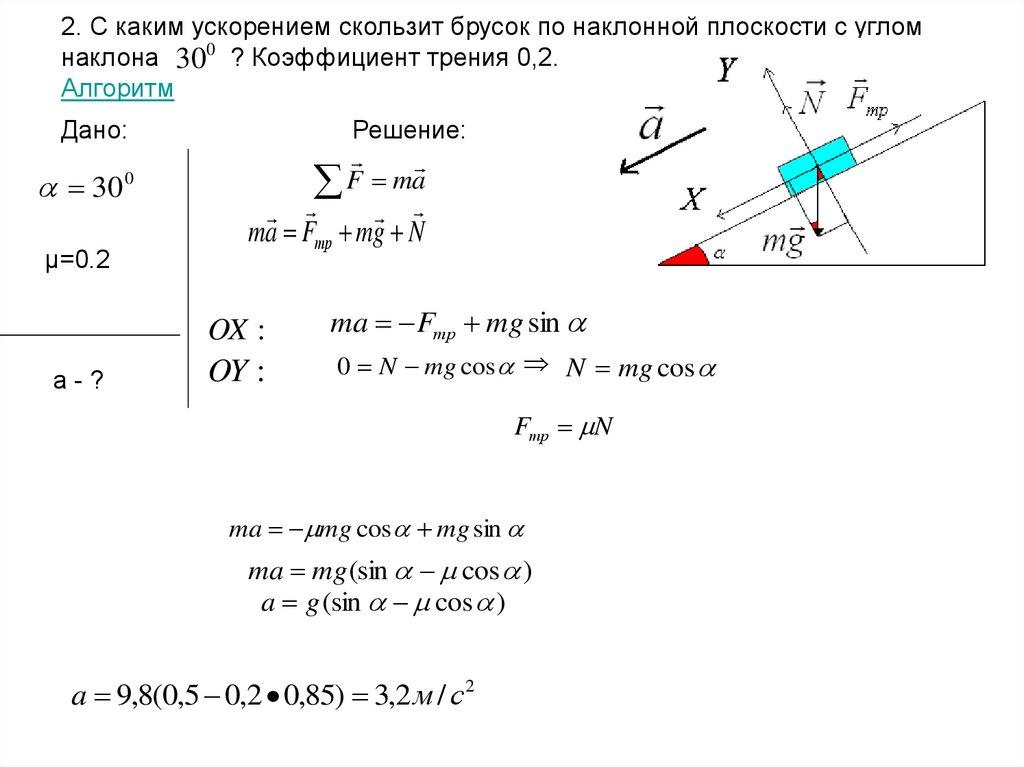 Решение задач раздел динамика решить методом разделения переменных смешанную задачу