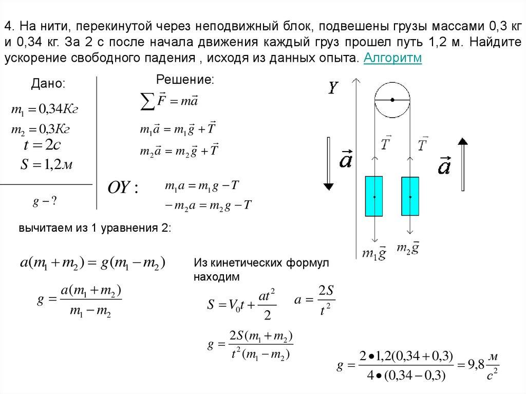 Решение задач по динамике алгоритм экономическое моделирование примеры решение задач