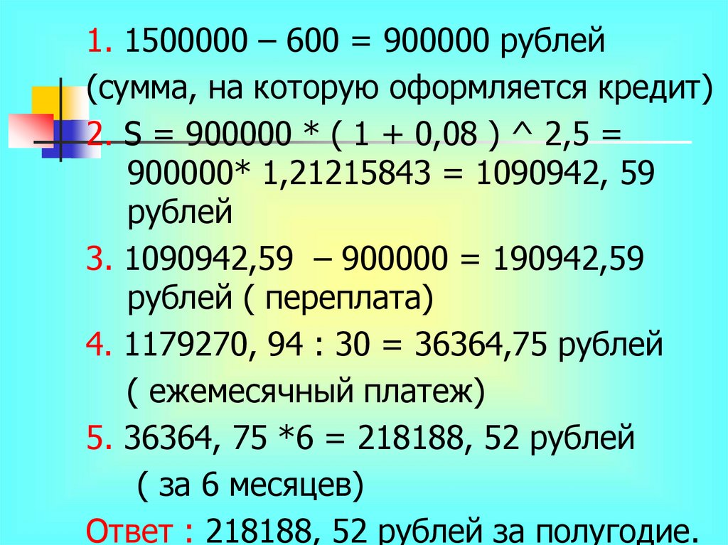 Кредит «Индивидуальный». от 15,9%.
