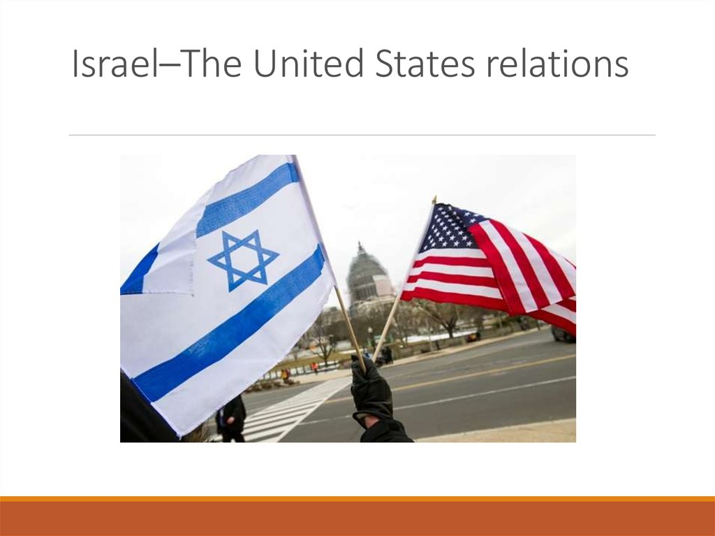 Israel–The United States relations
