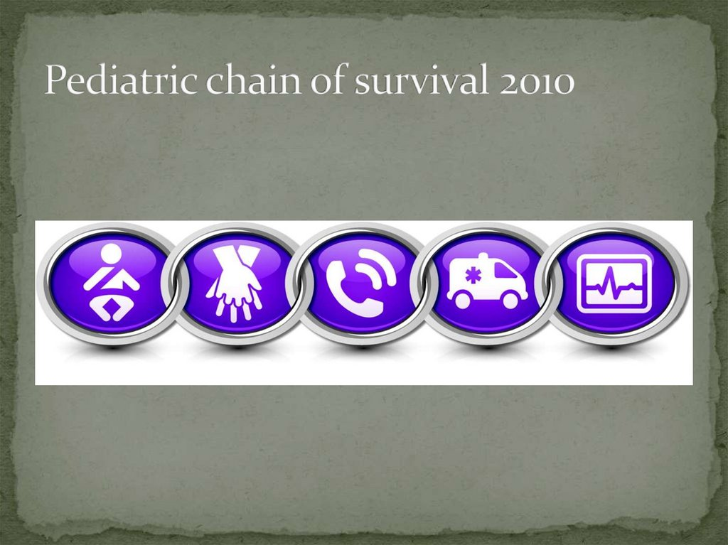 Pediatric chain of survival 2010