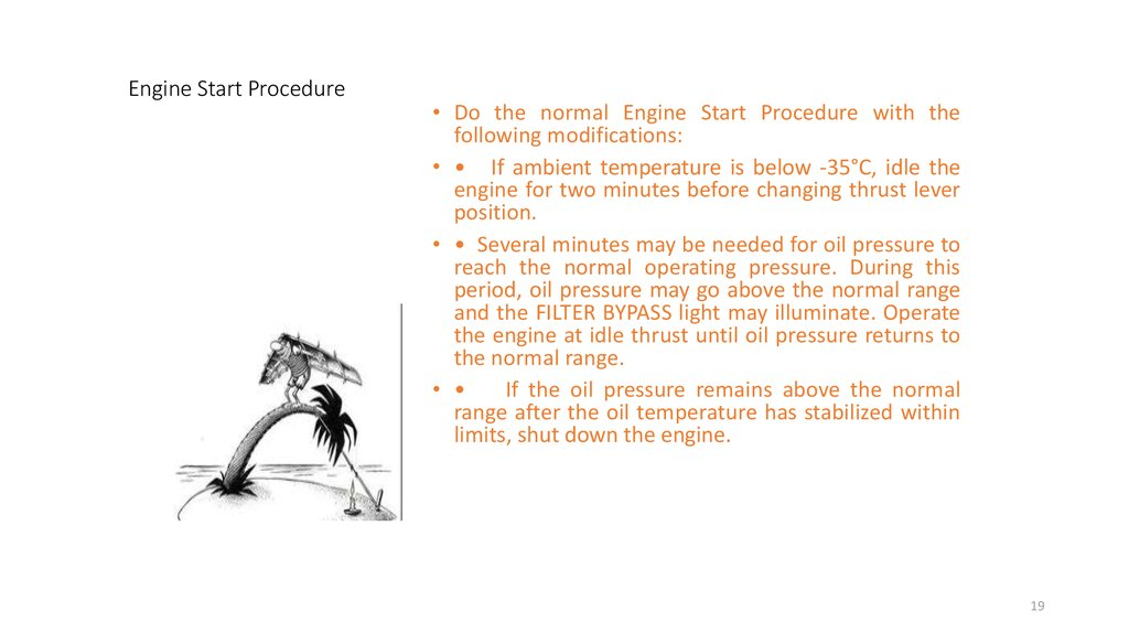 Engine Start Procedure