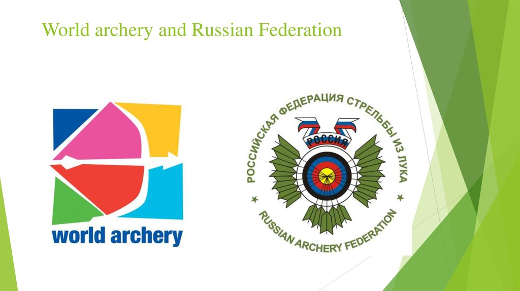 World archery and Russian Federation