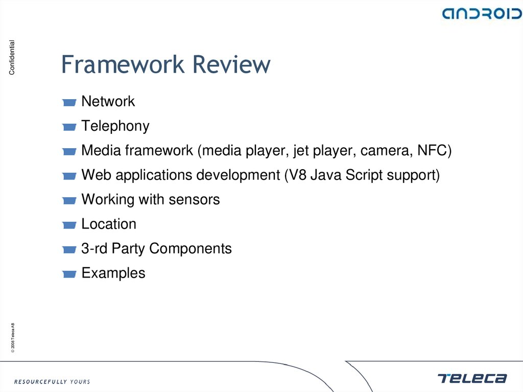 Framework Review