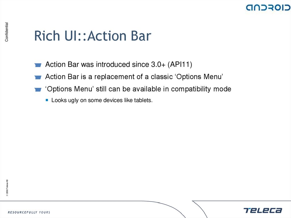 Rich UI::Action Bar