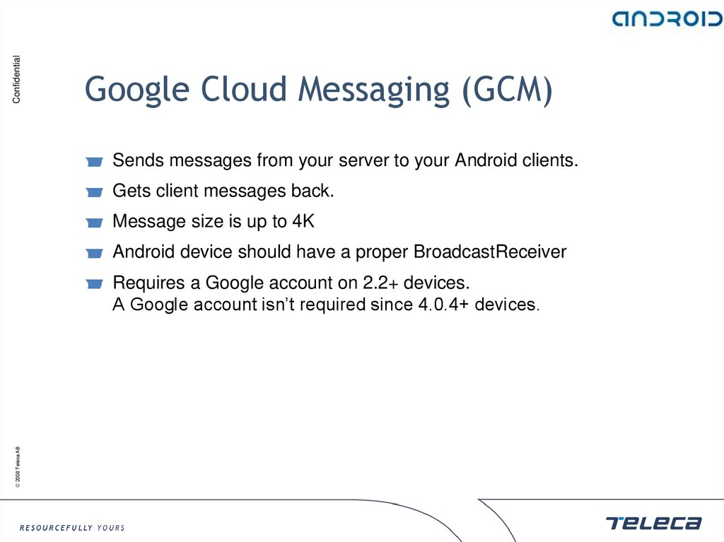 Google Cloud Messaging (GCM)