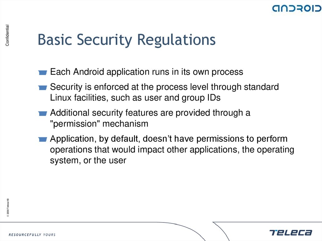 Basic Security Regulations