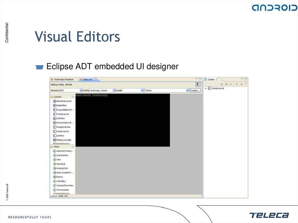 Visual Editors