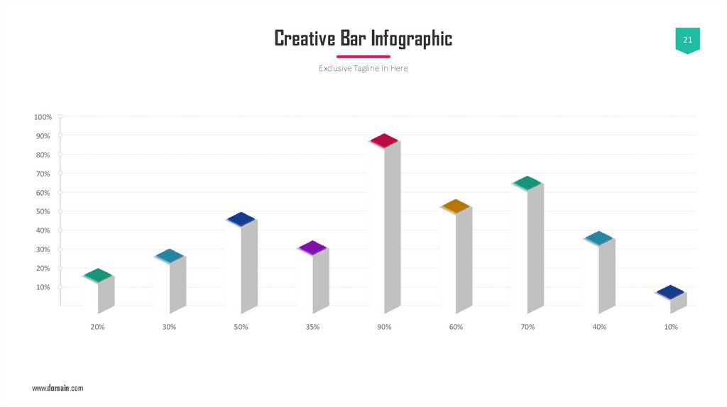 Creative Bar Infographic