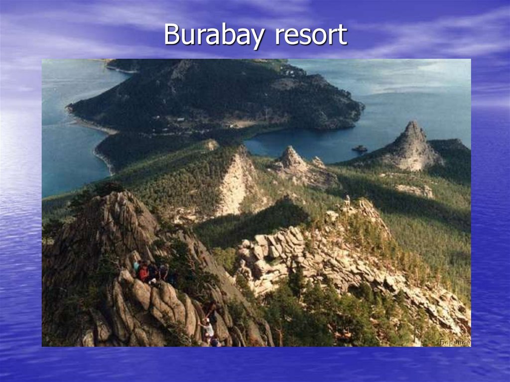 Burabay resort