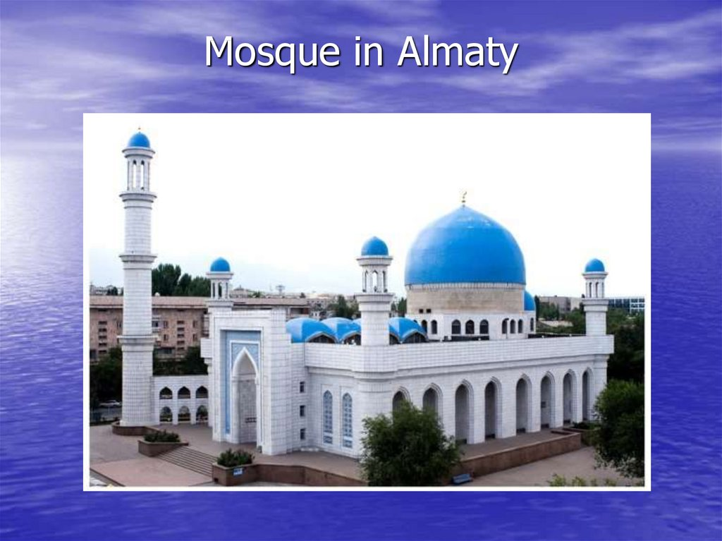 Mosque in Almaty
