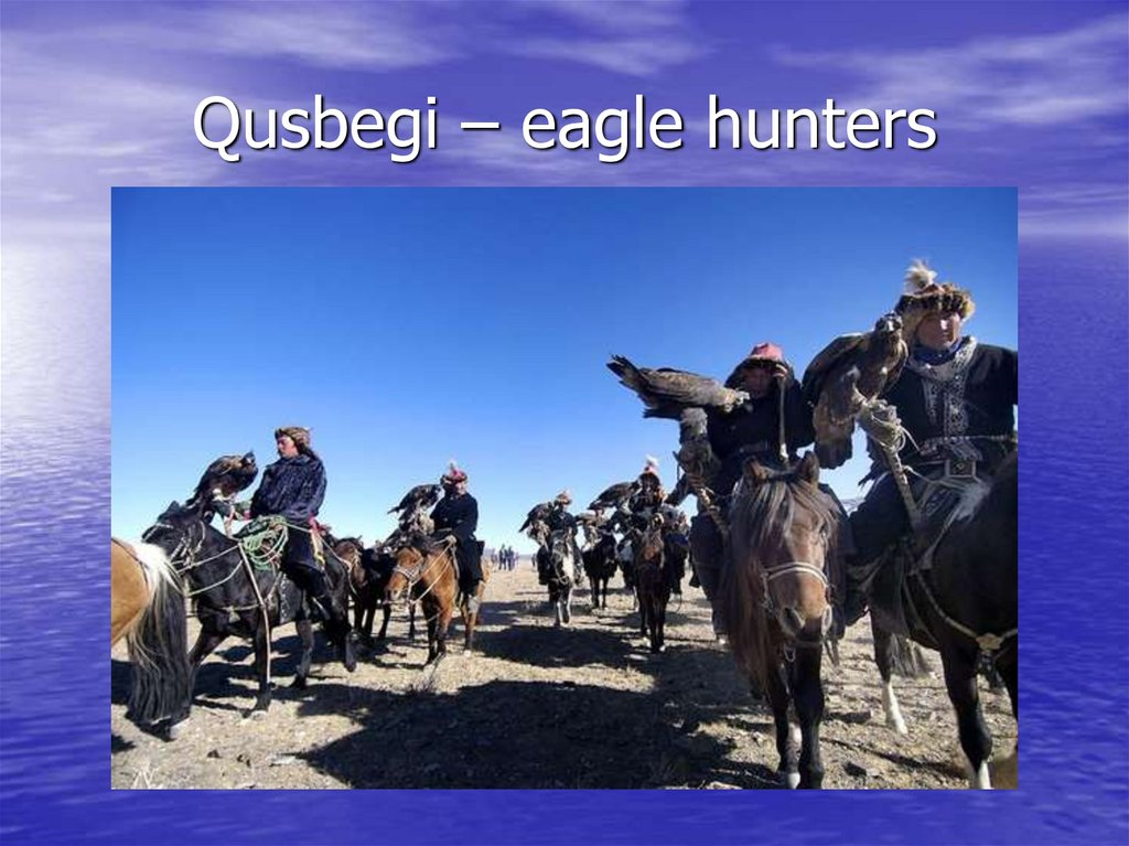 Qusbegi – eagle hunters