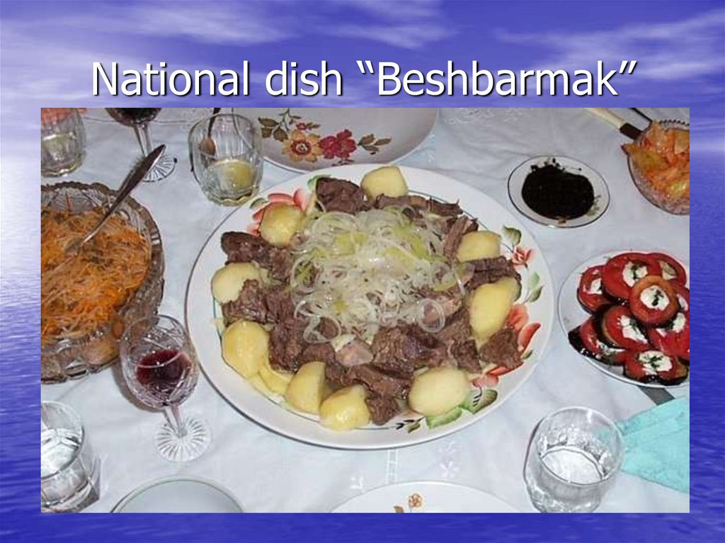 "National dish ""Beshbarmak"""