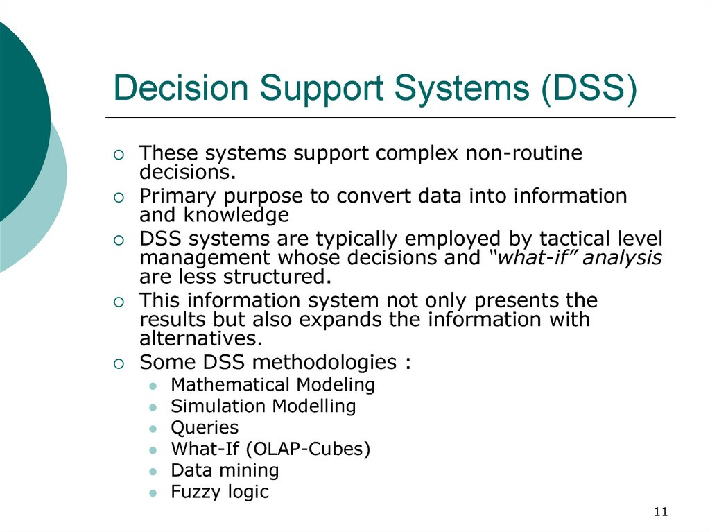 decision support systems assignment 3 Cse5dss - decision support systems individual assignment, 2018 due date: monday 7st may, 10:00am, 2018 assessment weight: 30% of the final mark for the subject instructions • this is an individual assignment.