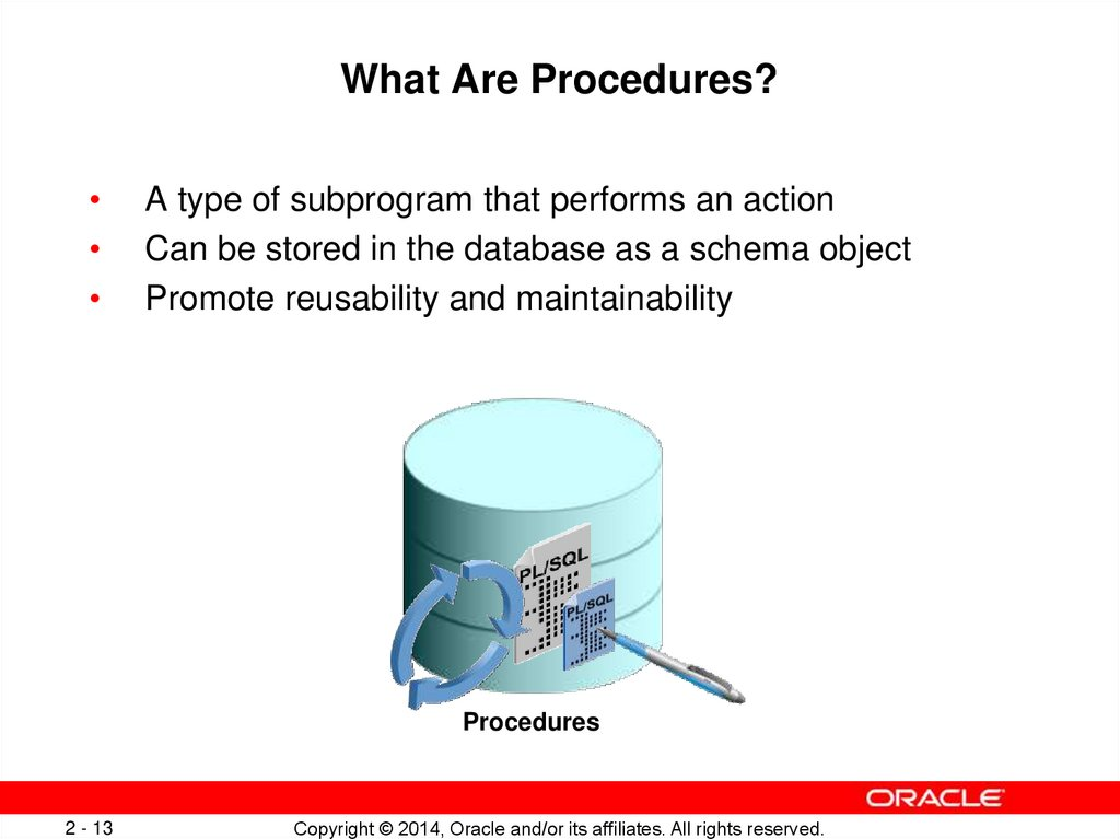 What Are Procedures?