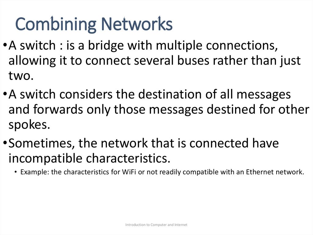 Combining Networks