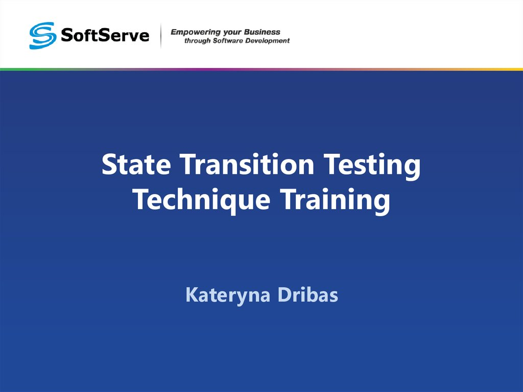 State Transition Testing Technique Training