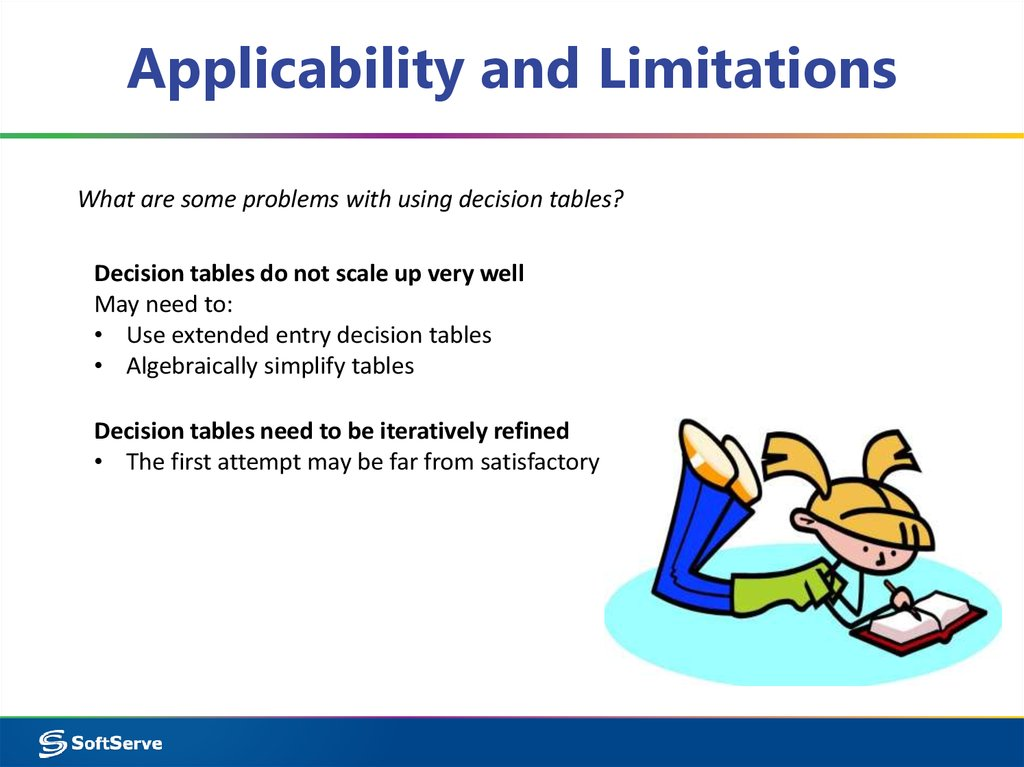 Applicability and Limitations
