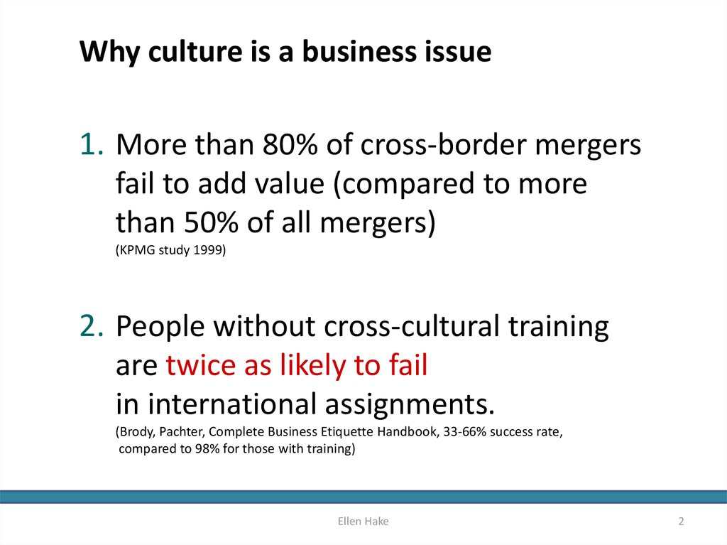 Why culture is a business issue