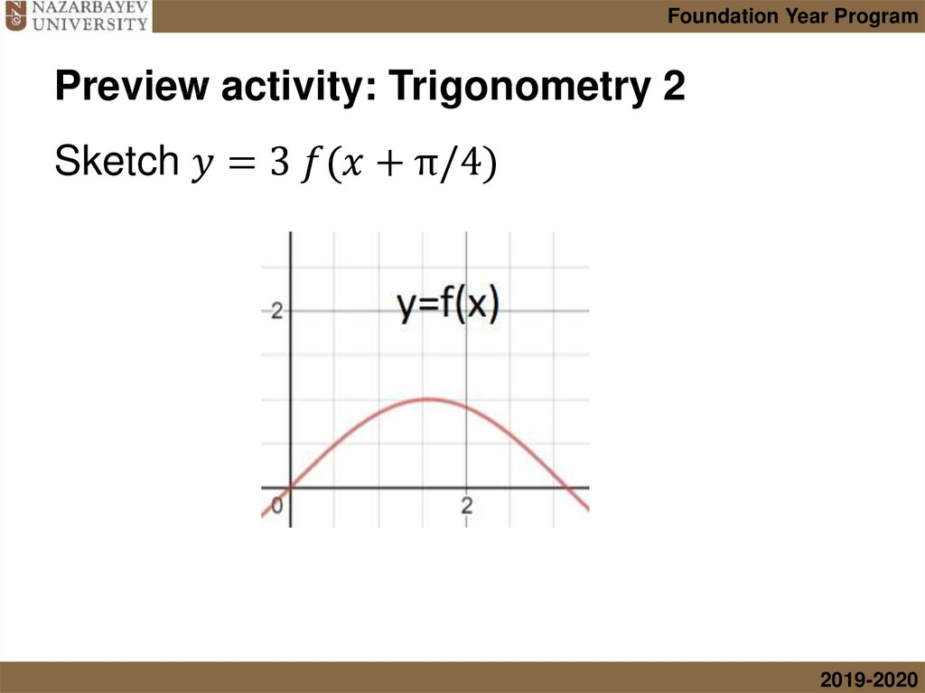 Preview activity: Trigonometry 2