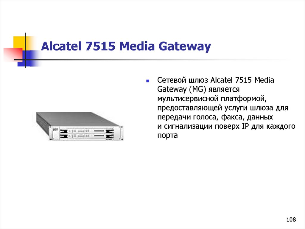 Alcatel 7515 Media Gateway