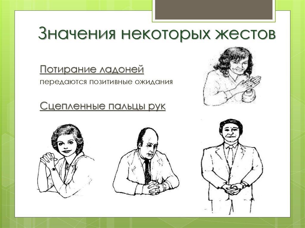 картинки жестов нежелания нашего