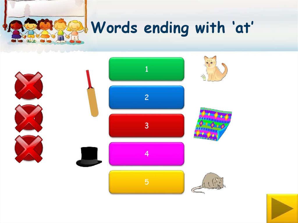 ppt rhyming words