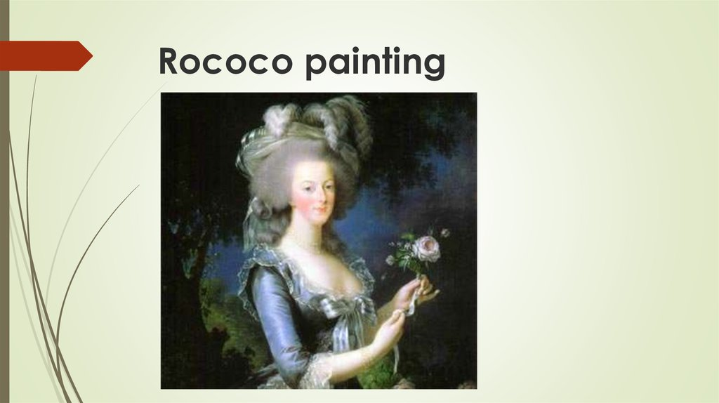 Rococo painting