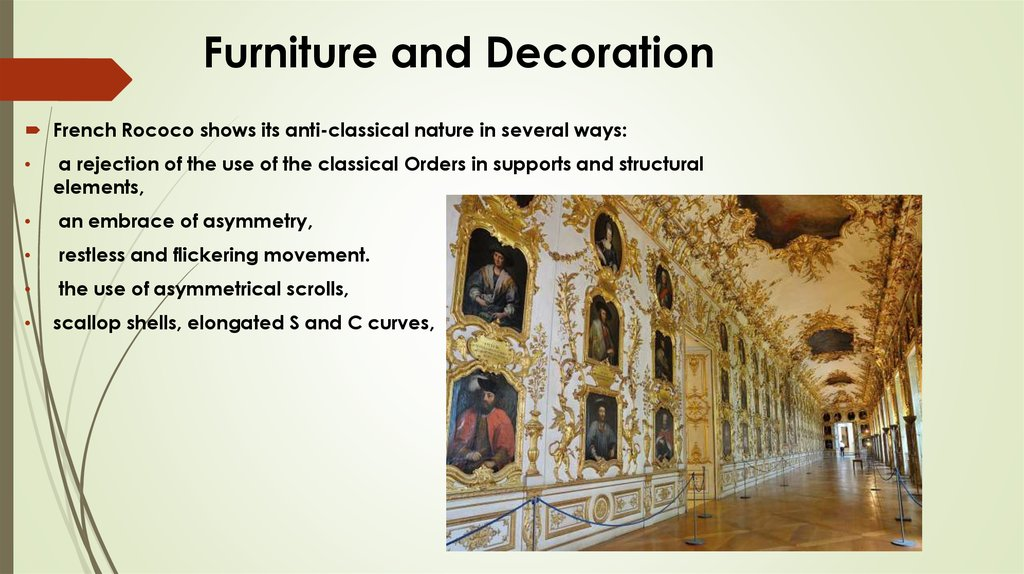 Furniture and Decoration