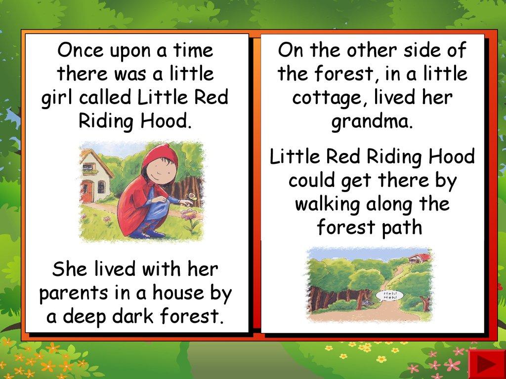 Little Red. Riding Hood - online presentation