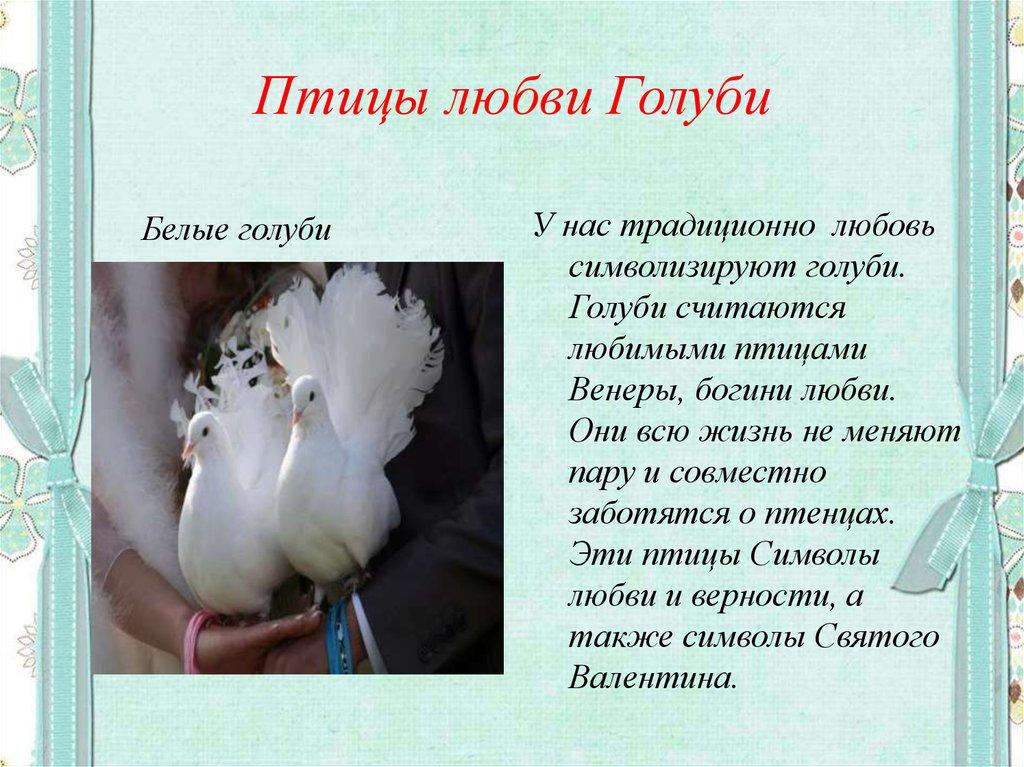 если стихи свадьба голуби пожелания