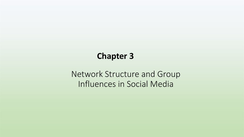 Network Structure and Group Influences in Social Media