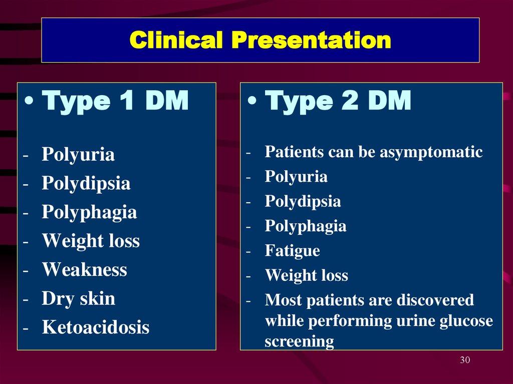 poliuria diabetes mellitus tipo 2