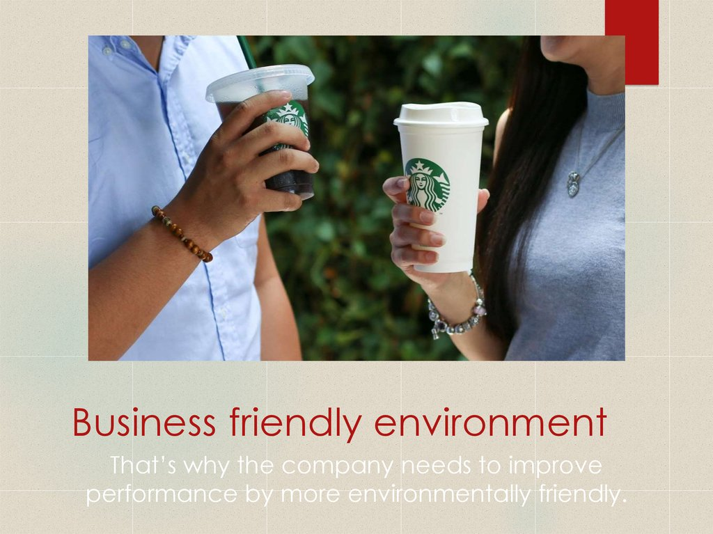 Business friendly environment