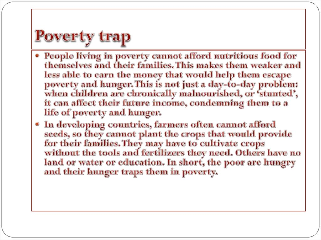 poverty and good brief discussion The debate about income inequality is contentious partially because people conflate several different but related ideas these four questions should be at the center of discussion of inequality to keep everyone on the same page.